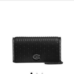 Convertible Leather Coach Belt Bag